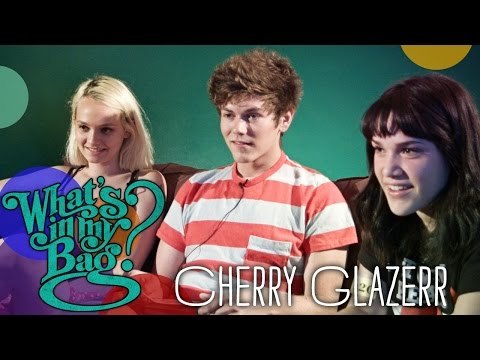 Cherry Glazerr  What's In My Bag?