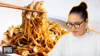Super spicy BANG BANG Chicken Noodles 🔥🔥🔥 | Marion's Kitchen
