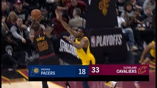 LeBron James Shows Pacers He Is Unstoppable!(Put Cavs On His Back!)