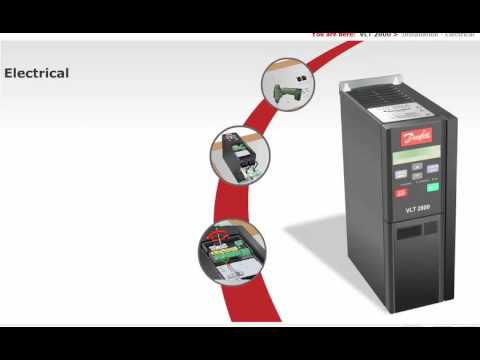 Danfoss Vlt 2800 Wiring Diagram How Chocolate Is Made Inverter Lesson 05 Installation And Connection