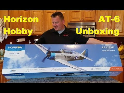 Horizon Hobby - AT-6 - Unboxing!!!