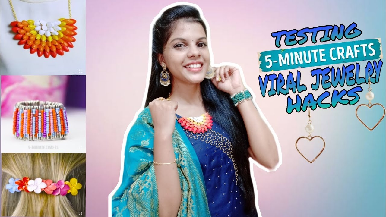 TESTING OUT VIRAL JEWELRY HACKS by 5 minute crafts [TAMIL]