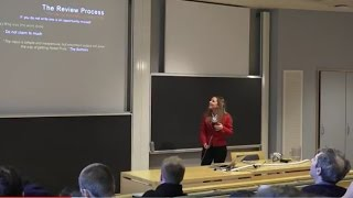 Successful Letters in Physical Review Letters, a talk by Serena Dalena, Associate Editor