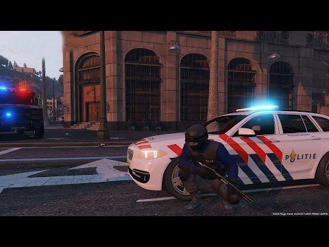 Op Pad Met Het ArrestatieTeam!! [GTA 5] - KillaJ (LSPDFR 0.3)