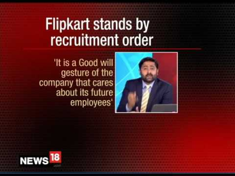 Mr. Kris Lakshmikanth  CEO Head Hunters is Flipkart Using Restructuring as an Excuse   CNN News 18 1