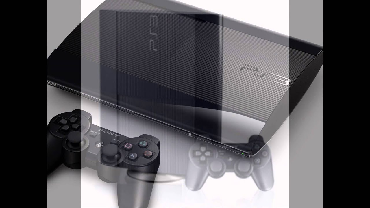 Ps3 different models - YouTube