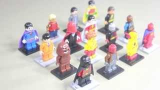 LEGO DC SUPERHEROES - MINIFIGURE SERIES - CUSTOM