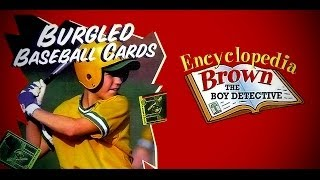 Encylopedia Brown - Burgled Baseball Cards - 1990