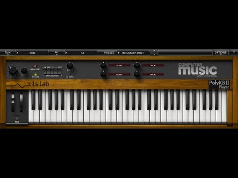 FREE VST/AU plugins: Piano and vintage synth sounds with Alchemy Player CM  and PolyKB II CM