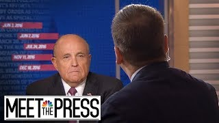 Full Rudy: 'No Reason To Dispute' Mueller Report | Meet The Press | NBC News