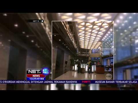 Detik Detik Runtuhnya Mezzanine Gedung BEI  - NET 12