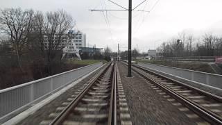 Schwerin Tramways Route 4 Neu Pampow to Platz der Freiheit Straßenbahn Schwerin Linie 4