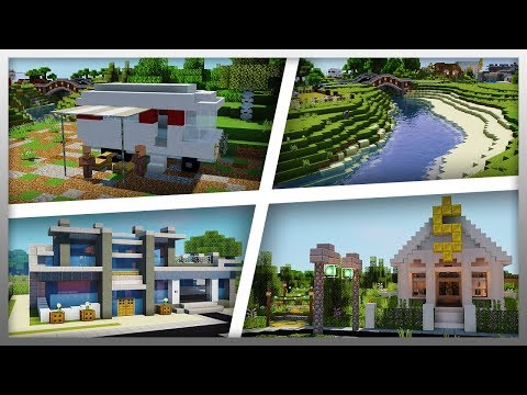 ✔️ A Fan RECREATED My Minecraft Town! (Download Link Below)
