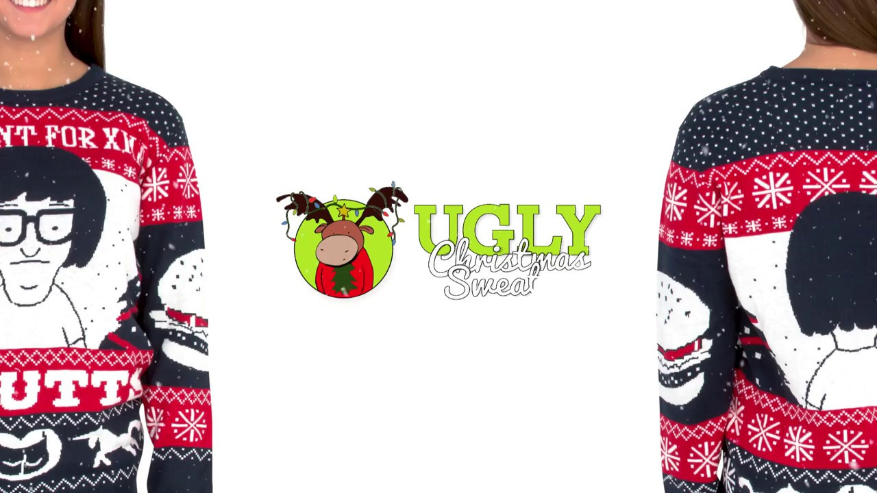 c8b6a396 Tina from Bob's Burgers Ugly Christmas Sweater - YouTube