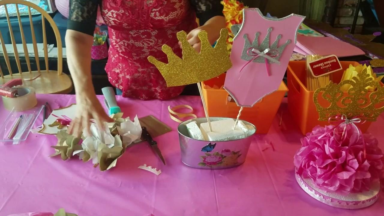 Como hacer centro de mesa estilo bailarina de ballet by Maria Garcialepe