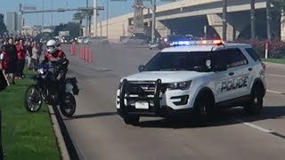 BIKER RUNS FROM COPS At Houston Cars and Coffee/Coffee and Cars(GETS TAZED)!!!
