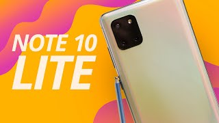 GALAXY NOTE 10 LITE, FAZ SENTIDO COMPRAR? [Hands-On]