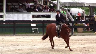 Tori Colvin and Way Cool Upperville Score of 100