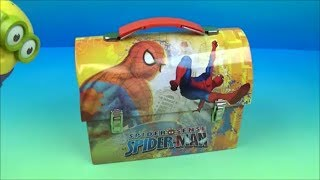 WHAT'S IN THE LUNCH BOX? MYSTERY FAST FOOD TOY REVIEW  Episode 2