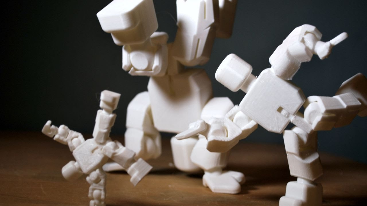 Breathtaking image inside 3d printable figures