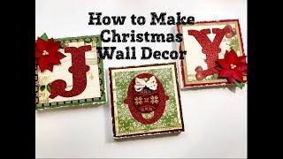 Live, Diy Christmas Ornaments & Decor/how To Make Christmas Wall Decor