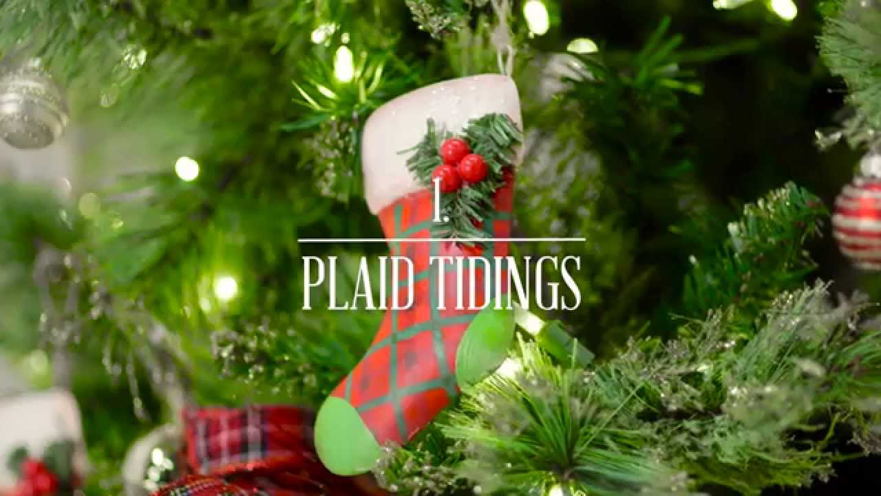Pier 1 Imports: Three Festive Looks For Your Christmas Tree