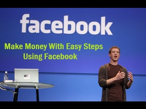How To Make Money Online With Facebook