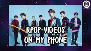 More KPop videos on my phone [Phone Vids #7]