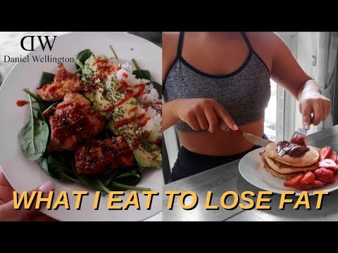 WHAT I EAT IN A DAY + daniel wellington giveaway!!