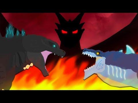 Godzilla Vs Zilla Jr : The Final Battle | FULL VERSION | Godzilla Vs Gryphon - DinoMania