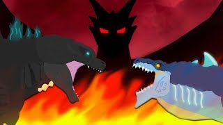Godzilla vs Zilla Jr : The Final Battle | FULL VERSION | Godzilla vs Gryphon - DinoMania