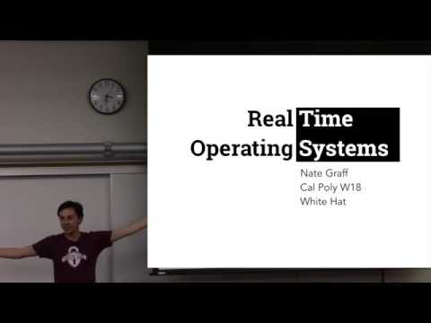 Real Time Operating Systems (RTOS)