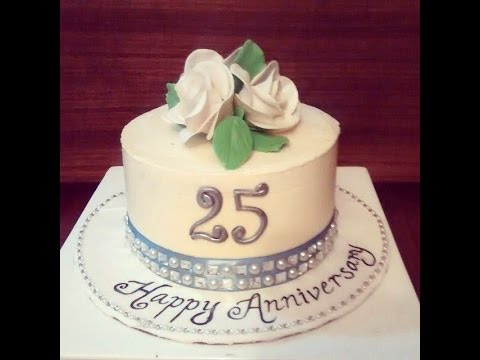 25th Wedding Anniversary Cake Testimonial YouTube