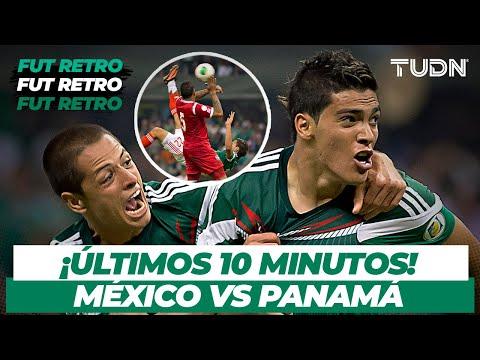 Fut Retro: ¡Partido cardíaco! México vs Panama   Eliminatorias Brasil 2014   TUDN