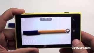 nokia Lumia 1020 видео ревю - Камера приложения