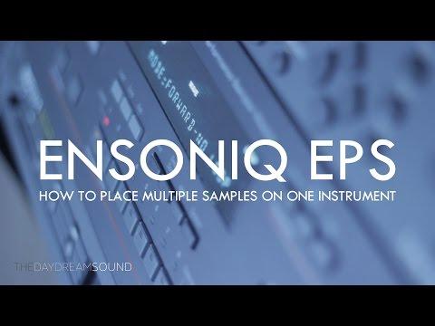 Ensoniq EPSm Sampler Multisampling Tutorial