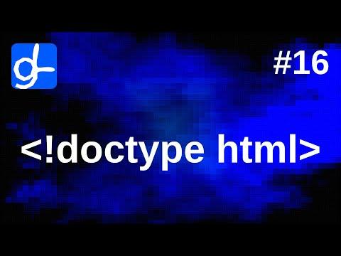 HTML Document Structure • Web Development 16