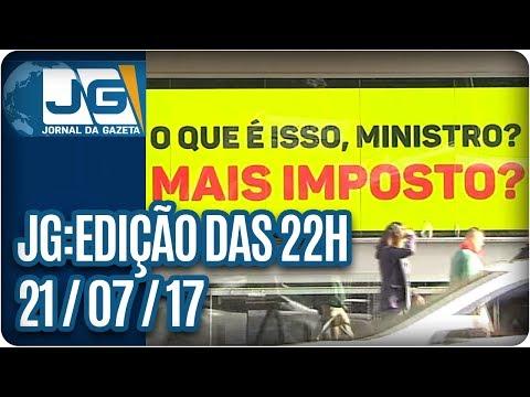 Jornal da Gazeta - Edição das 10 - 21/07/2017