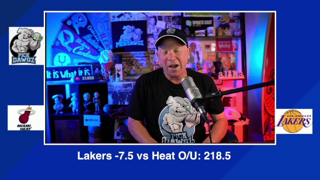 Los Angeles Lakers Vs Miami Heat 2020 Nba Finals Game 4 Pick Prediction 10 6 20 Youtube