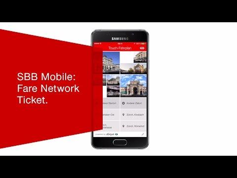 SBB Mobile: Fare Network Ticket.
