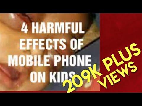 Harmful Effects Of Mobile Phones On Kids by Dr.V.Sunilraj