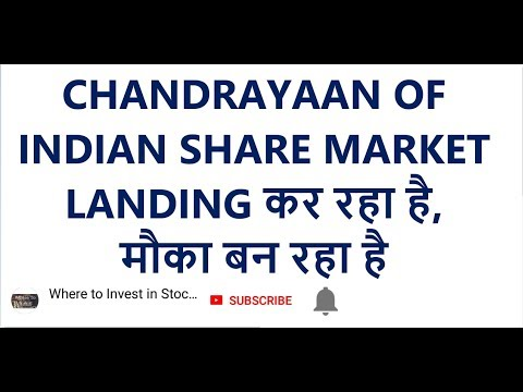 CHANDRAYAAN OF INDIAN SHARE MARKET | LANDING कर रहा है
