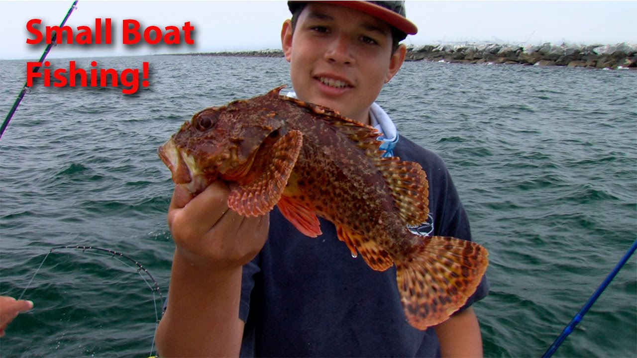 536 dan goes small boat fishing in long beach sport for Long beach fishing boat