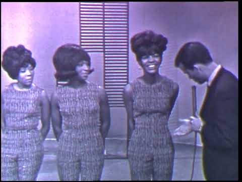 American Bandstand 1966- Interview Matha and the Vandellas
