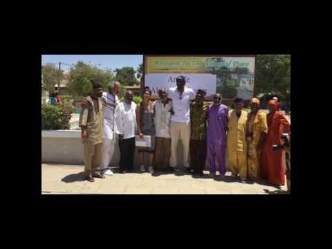 Amar'e Stoudemire Visits The African Hebrew Israelites Village Of Peace In Dimona