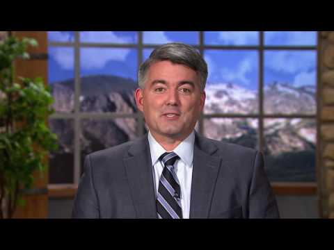 12/31/16 Sen. Cory Gardner (R-CO) delivers GOP Weekly Addresss on increasing opportunity