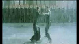 Music video with scenes from The Matrix Revolutions.