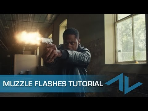 Tutorial: How to Composite Muzzle Flashes in After Effects