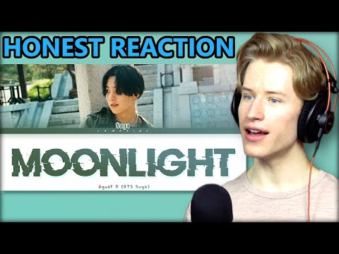 HONEST REACTION to Agust D (SUGA) - Moonlight (저 달)