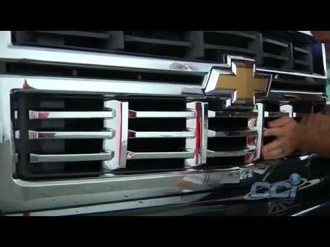 CCI Grille Overlay Upgrades 2014 Chevrolet Silverado Z71